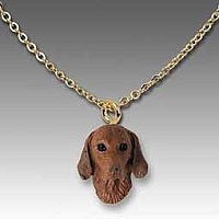 Vizsla Tiny One Pendant