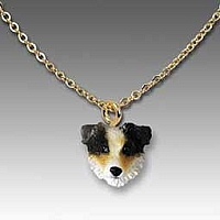 Australian Shepherd Brown Tiny One Pendant