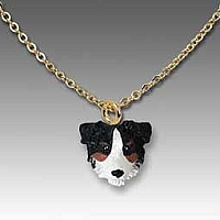 Australian Shepherd Tricolor Tiny One Pendant