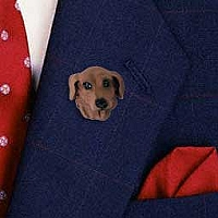 Dachshund Red Pin