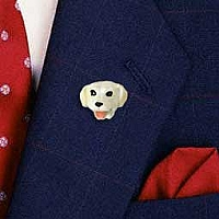 Labrador Retriever Yellow Pin