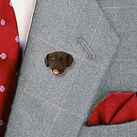 Labrador Retriever Chocolate Pin
