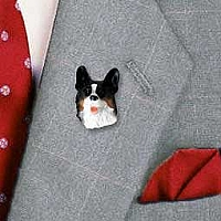 Welsh Corgi Cardigan Pin