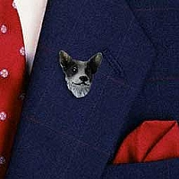 Australian Cattle BlueDog Pin