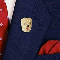 Soft Coated Wheaten Pin