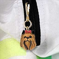 Yorkshire Terrier Zipper Charm