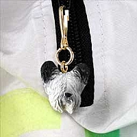 Skye Terrier Zipper Charm