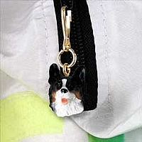 Welsh Corgi Cardigan Zipper Charm