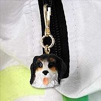 Bernese Mountain Dog Zipper Charm