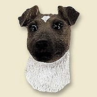 Fox Terrier Brown & White Magnet