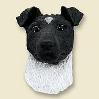 Fox Terrier Black & White Magnet