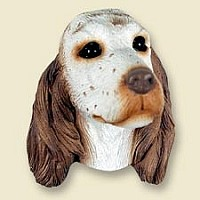English Setter Belton Orange Magnet