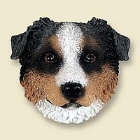 Australian Shepherd Blue w/Docked Tail Magnet