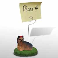 Yorkshire Terrier Memo Holder