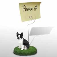 Boston Terrier Memo Holder