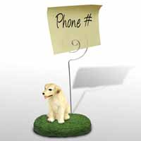 Labrador Retriever Yellow Memo Holder