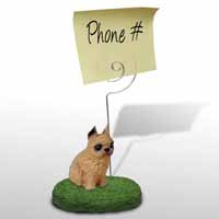 Brussels Griffon Red Memo Holder