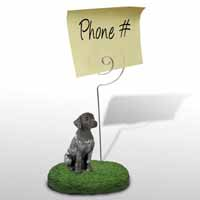 German Short Haired Pointer Memo Holder