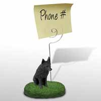Schipperke Memo Holder