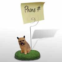 Norwich Terrier Memo Holder