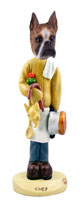 Boxer Brindle Chef Doogie Collectable Figurine