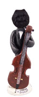 Pomeranian Black Bassist Doogie Collectable Figurine