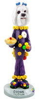 Maltese Clown Doogie Collectable Figurine