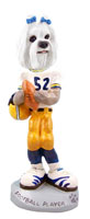 Maltese Football Player Doogie Collectable Figurine