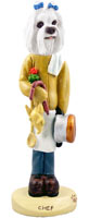 Maltese Chef Doogie Collectable Figurine