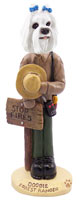 Maltese Forest Ranger Doogie Collectable Figurine