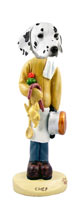 Dalmatian Chef Doogie Collectable Figurine