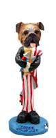 Bulldog 4th of July Doogie Collectable Figurine
