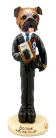 Bulldog Airline Pilot Doogie Collectable Figurine