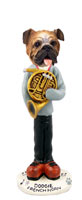 Bulldog French Horn Doogie Collectable Figurine