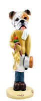 Bulldog White Chef Doogie Collectable Figurine