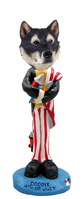 Alaskan Malamute 4th of July Doogie Collectable Figurine