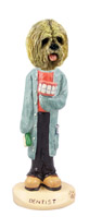Lhasa Apso Blonde Dentist Doogie Collectable Figurine