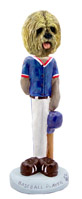 Lhasa Apso Blonde Baseball Doogie Collectable Figurine