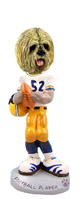 Lhasa Apso Blonde Football Player Doogie Collectable Figurine