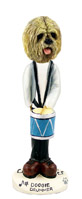 Lhasa Apso Blonde Drummer Doogie Collectable Figurine