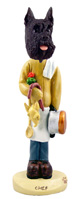 Schnauzer Black Chef Doogie Collectable Figurine