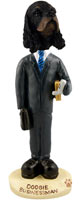Cocker Spaniel Black & Tan Businessman Doogie Collectable Figurine
