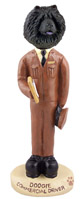 Chow Black Commercial Driver Doogie Collectable Figurine
