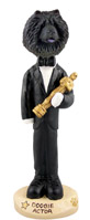 Chow Black Actor Doogie Collectable Figurine