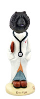 Chow Black Doctor Doogie Collectable Figurine