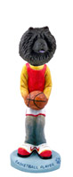 Chow Black Basketball Doogie Collectable Figurine