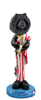 Chow Black 4th of July Doogie Collectable Figurine