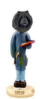 Chow Black Artist Doogie Collectable Figurine