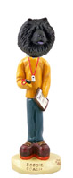 Chow Black Coach Doogie Collectable Figurine