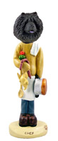 Chow Black Chef Doogie Collectable Figurine